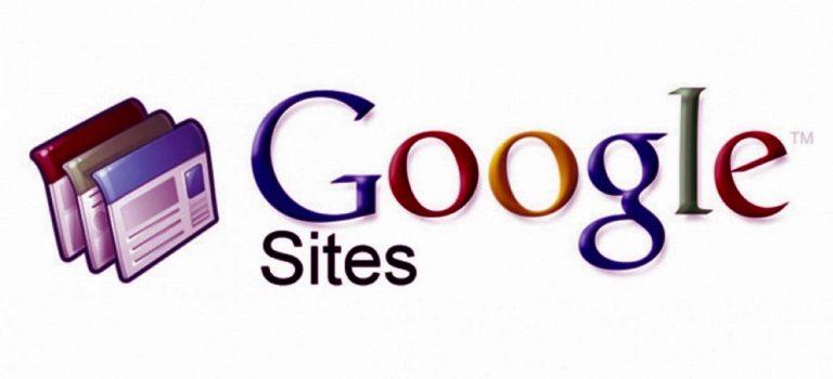 crear una pagina gratis con google