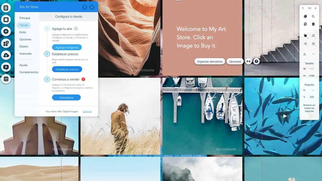 crear una tienda online con wix gratis