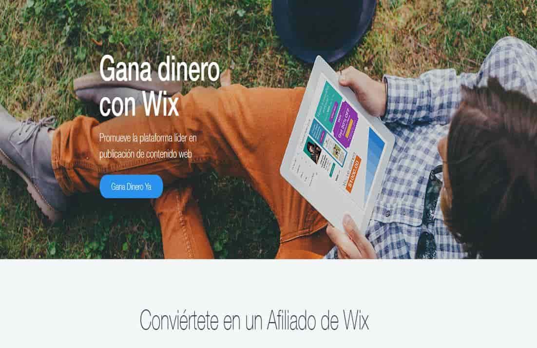afiliados de wix