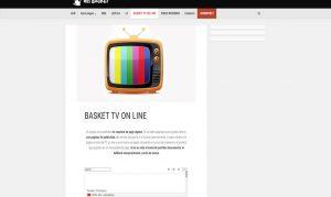 ver baloncesto por internet gratis